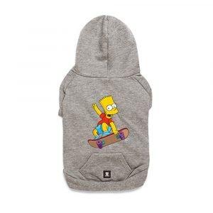 Zee.Dog Hoodie Bart Simpson Skate