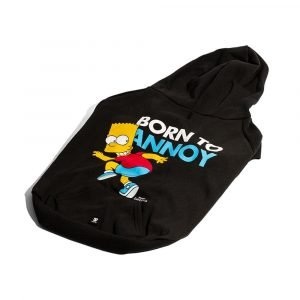 Zee.Dog Hoodie Bart Simpson Born to Annoy