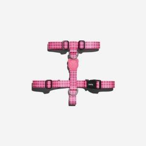 Zee.Dog Pink Wave // H Arnês