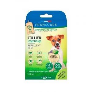 Francodex Coleira Repelente para Cães