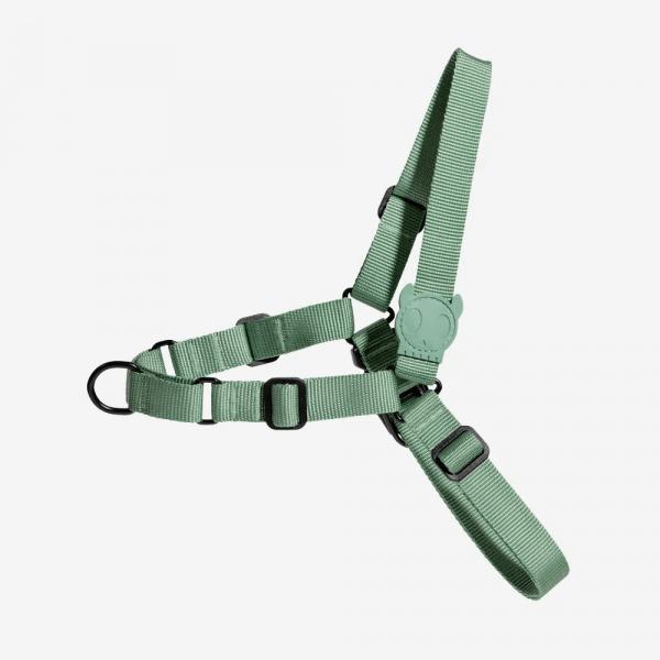 Zee.Dog Army Green Soft-Walk Harness