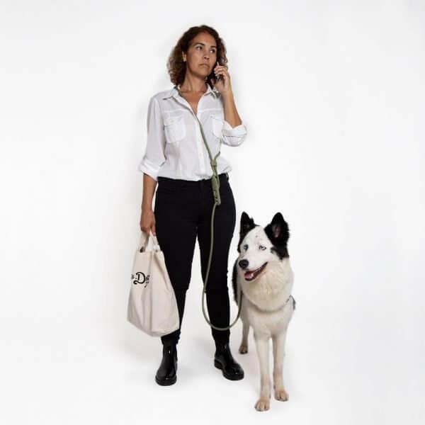 Zee.Dog Army Green // Trela Handsfree